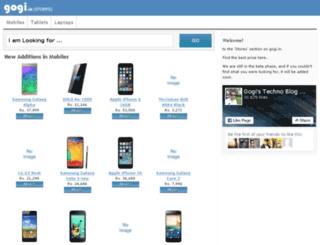 stores.gogi.in screenshot