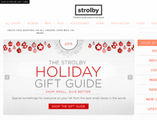 stores.strolby.com screenshot