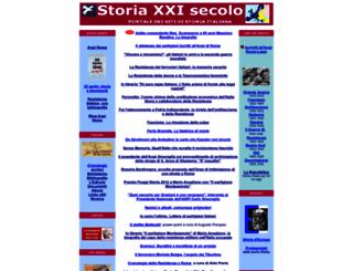 storiaxxisecolo.it screenshot