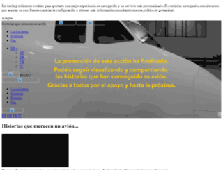 storiechemeritanounaereo.org screenshot
