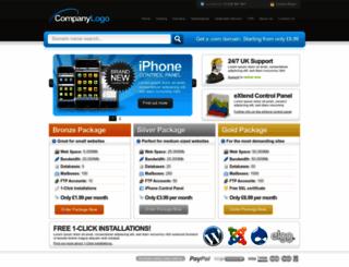 storm-hosting.com screenshot