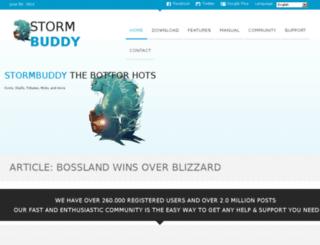 stormbuddy.tv screenshot