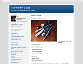 stormdrane.blogspot.no screenshot
