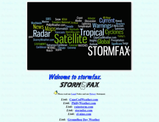 stormfax.com screenshot