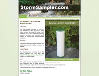 stormsampler.com screenshot