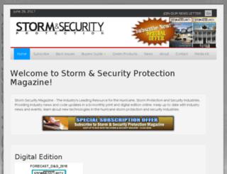stormsecuritymag.com screenshot
