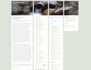stormwaterlibrary.wordpress.com screenshot