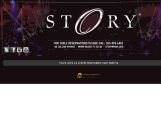 story.wantickets.com screenshot