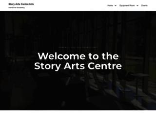 storyartscentre.info screenshot