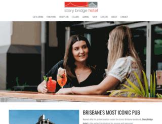 storybridgehotel.com.au screenshot