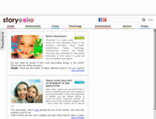storycake.com screenshot