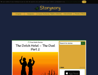 storynory.com screenshot