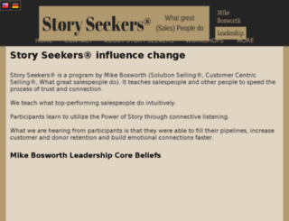 storyseekers-chicago.com screenshot