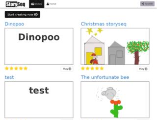 storyseq.com screenshot