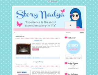 storystorynadya.blogspot.com screenshot