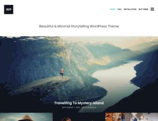 storyteller.prollective.com screenshot