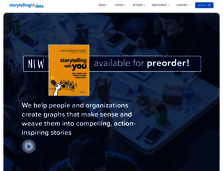 storytellingwithdata.com screenshot