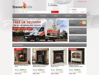 stoves4life.co.uk screenshot