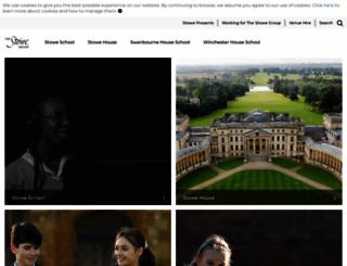 stowe.co.uk screenshot