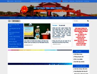 stp.binhphuoc.gov.vn screenshot