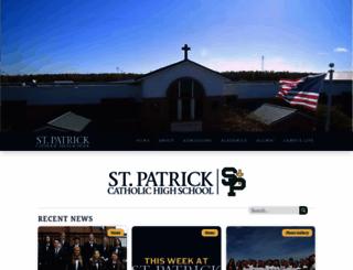 stpatrickhighschool.net screenshot
