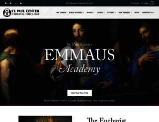 stpaulcenter.com screenshot