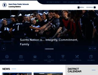 stpeterschools.org screenshot