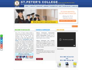 stpetersedu.com screenshot