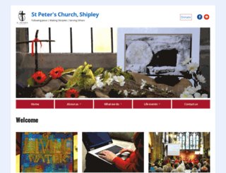 stpetes.org.uk screenshot