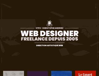 stpo.fr screenshot