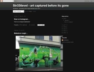 str33tlevel.org screenshot