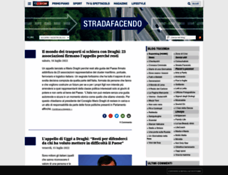 stradafacendo.tgcom24.it screenshot