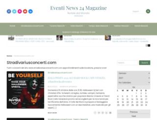 stradivariusconcerti.com screenshot