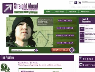 straightahead.org screenshot