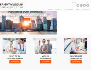 straightforwardbusinessconsulting.com screenshot