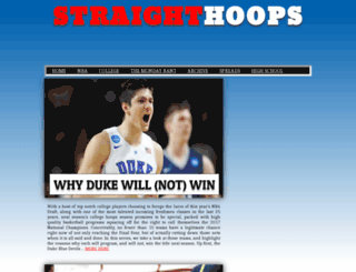 straighthoops.com screenshot