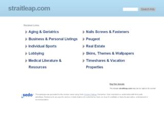 straitleap.com screenshot