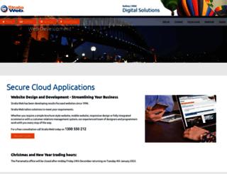 straliaweb.com.au screenshot