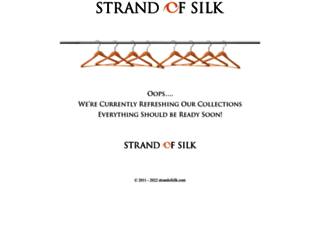 strandofsilk.com screenshot
