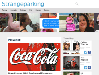 strangeparking.net screenshot