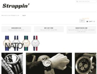 strappin.co.uk screenshot