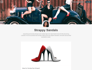 strappysandalss.tumblr.com screenshot