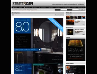 stratacafe.com screenshot