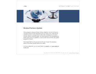 stratas-partners.com screenshot