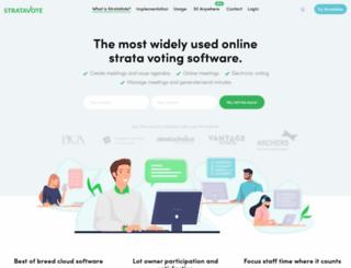 stratavote.com.au screenshot