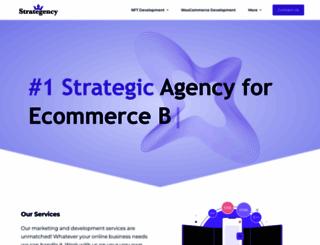 strategency.com screenshot