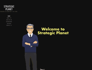 strategic-planet.com screenshot