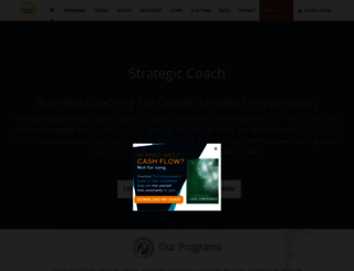 strategiccoach.com screenshot