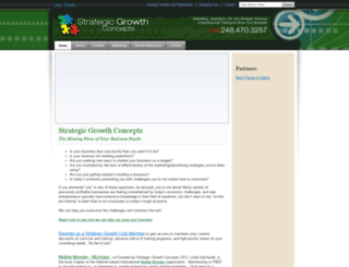 strategicgrowthconcepts.com screenshot
