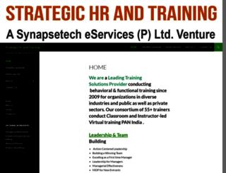 strategichrandtraining.com screenshot